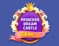 Princess Dream Castle - Game UI Design