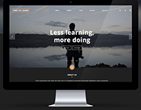 Landing page for learn web development