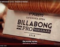 Billabong PRO by FOX SPORT / Pasión Extrema