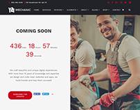 Mechanic WordPress Theme - Coming Soon Page