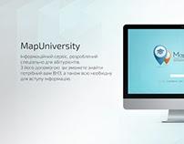 """Web-service """"Map University"""""""