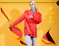 Lidia Judickaite in Colour Cuts for DM