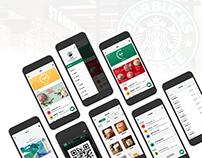 Starbucks Taiwan APP Redesign