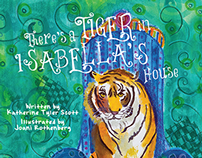 Book Design: Tiger in Isabella's House