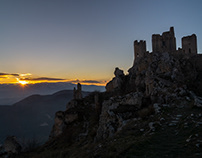 Chasing sunsets in Abruzzo