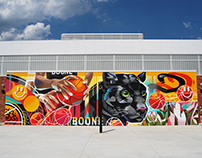 Mural for Boone Elementary School in Washington DC