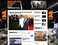 SBS 2 - HTML5 Homepage takeover design & dev