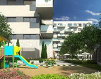 Neinor Padre Piquer - 3D Architectural Visualization