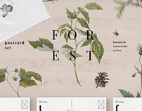 Forest Postcards