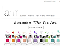 Website Design & Branding: I Am Fragrance