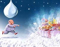 Print Campaign illustrations-TBWA-Artema-Dreams