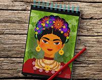 Frida Kahlo Vector Art