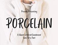 PORCELAIN - FREE SANS SERIF FONT