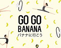 Packaging Design for Go Go Banana