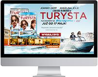 """Strona www i bannery  """"Turysta"""" - Imperial-Cinepix"""