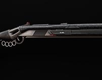 ''Challenger'' Laser Rifle