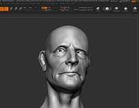 Screenshot- Head Bust