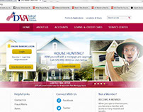 DVA FCU website banners