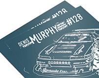 Drift Car Stats Poster