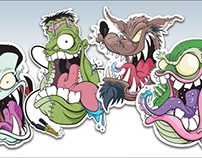 Monster Sticker Packs