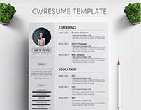 Premium CV/RESUME Template Design
