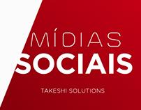 Mídias sociais - Takeshi Solutions 2018.1