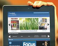 UI design at Cranfield University