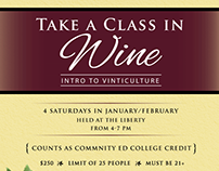 Wine Class Poster