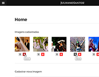 Gerenciar Site - Julhano Santoz Fotógrafo