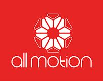 Rebranding for All Motion agency