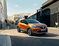 New Renault CAPTUR - CGI