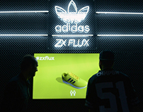 Adidas ZXFLUX Interactive stage