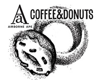 Airborne Ape: Coffee & Donuts