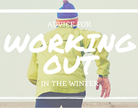Advice for Working Out in the Winter