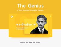 The Genius of King Bhumibol Adulyadej Website