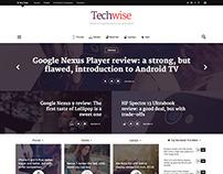 Techwise - Drag & Drop Magazine Wordpress Theme