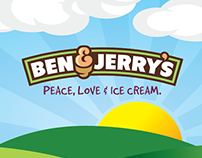 Ben & Jerry's Identity Refresh