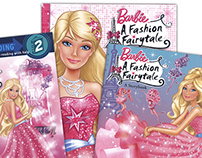 Colorist for Barbie Children's Book