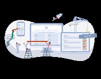 Illustration for services