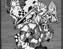 Drawings - Pedrada no Charco