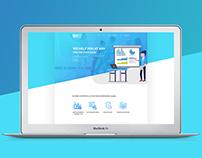 Crypto (ICO) Training Web Site Design