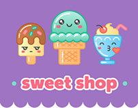 Sweet Shop iMessage Stickers