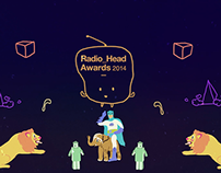 Radio_Head Awards ceremony motion graphics 2014