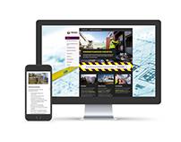 Prisma Bouwplaats Service responsive WP website