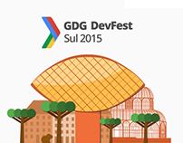 Site DevFest Sul 2015 - Curitiba - PR - Brazil