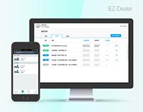 EZ-Dealer UI/UX Design