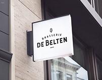 Visual identity De Belten - Brasserie