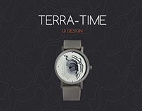 Terra-Time | Website UI Design
