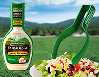 Hidden Valley On-Pack Salad Tongs