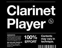 Clarinet Player Shirt